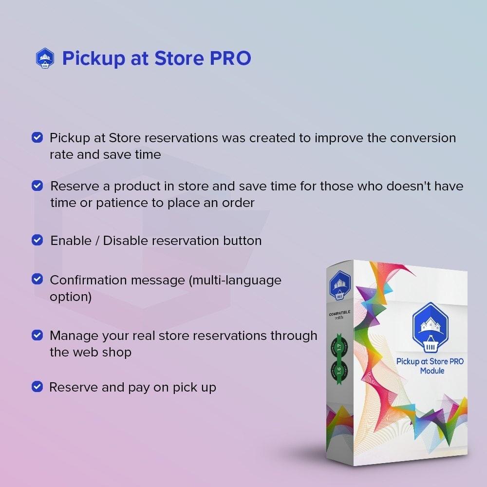 module - Punto di raccolta & Ritiro in negozio - Ritiro presso il Negozio PRO - 1