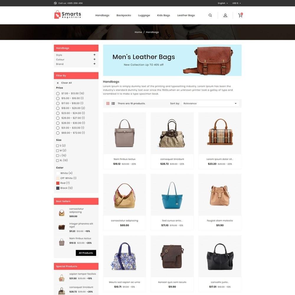 theme - Fashion & Shoes - Smart Bag Store - 3