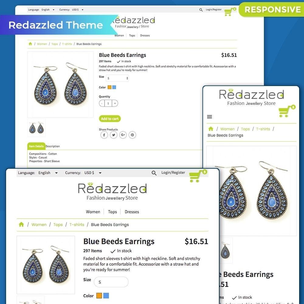 theme - Jewelry & Accessories - Redazzled Fashion Jewelry Store - 3