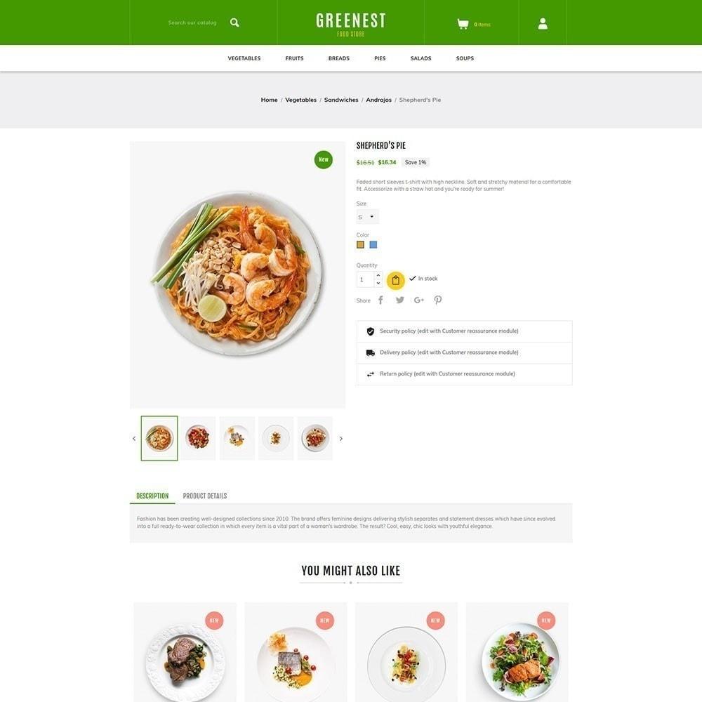 theme - Alimentos & Restaurantes - Mais ecológico - Food Store - 2