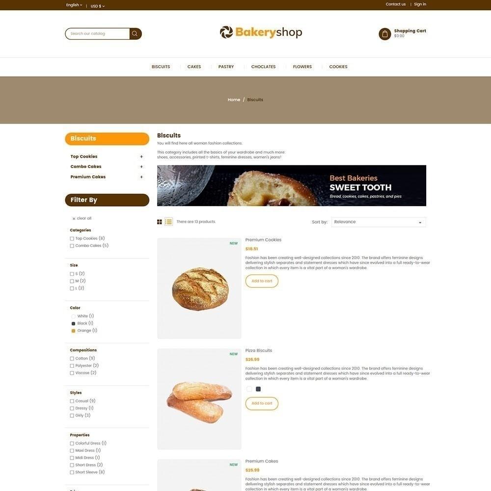 theme - Alimentation & Restauration - Magasin d'alimentation de boulangerie - 6