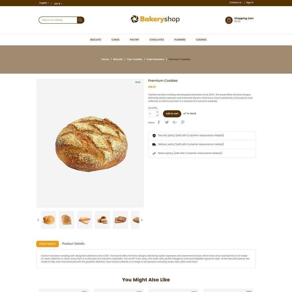 theme - Alimentos & Restaurantes - Loja de comida de padaria - 6
