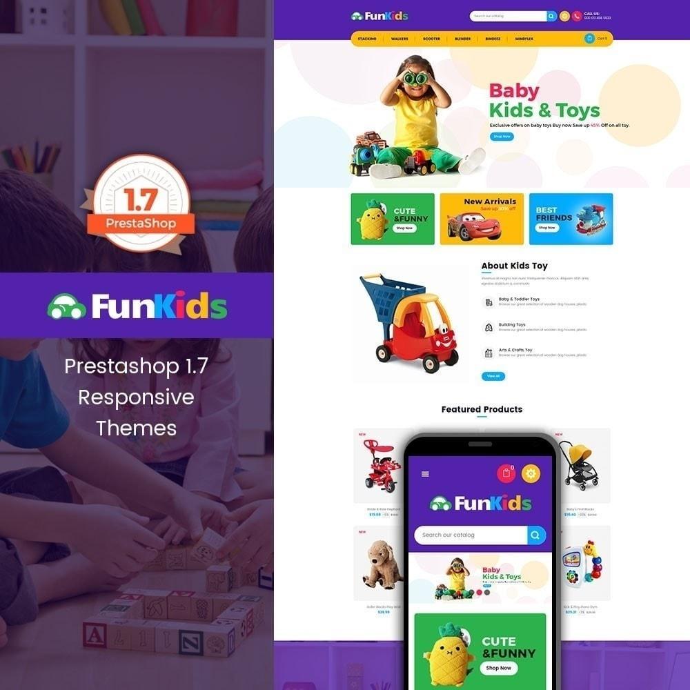 theme - Дети и Игрушки - Fun Kids - Магазин игрушек - 1