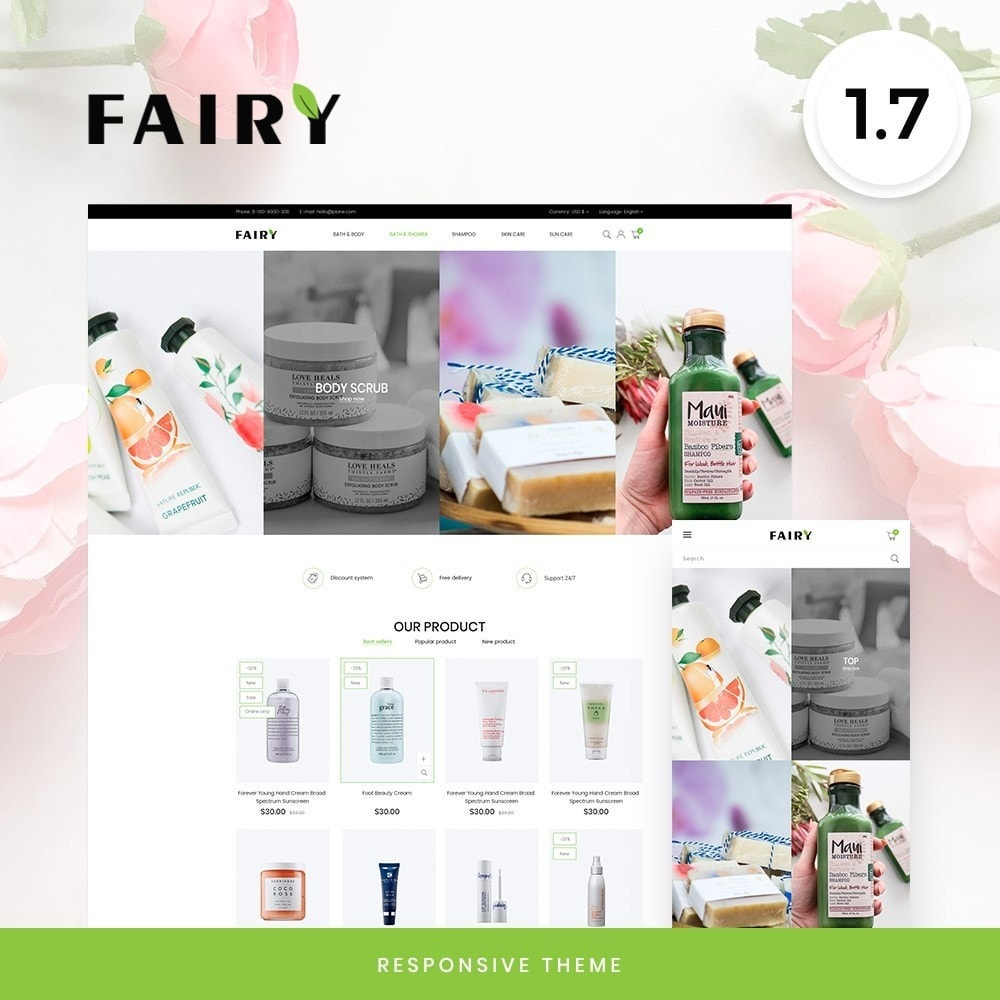 theme - Health & Beauty - Fairy Cosmetics - 1