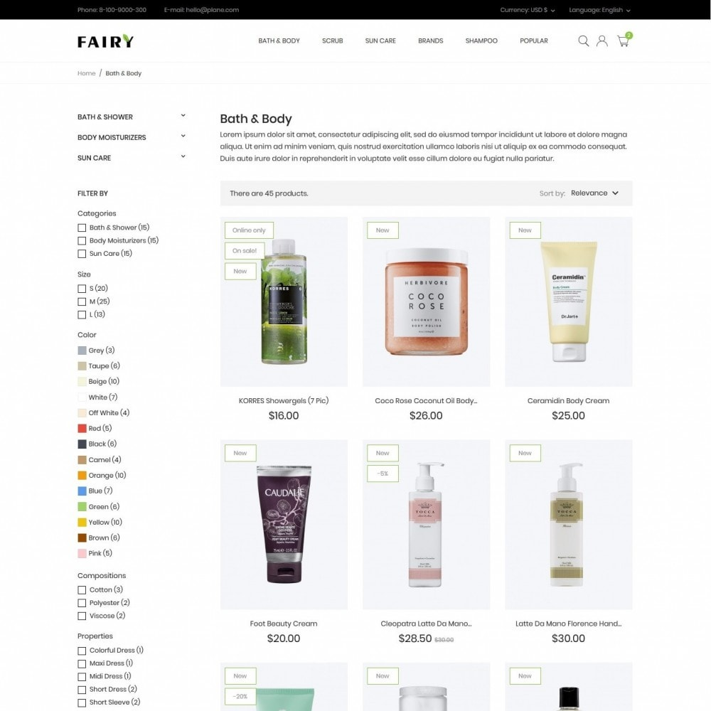 theme - Health & Beauty - Fairy Cosmetics - 5