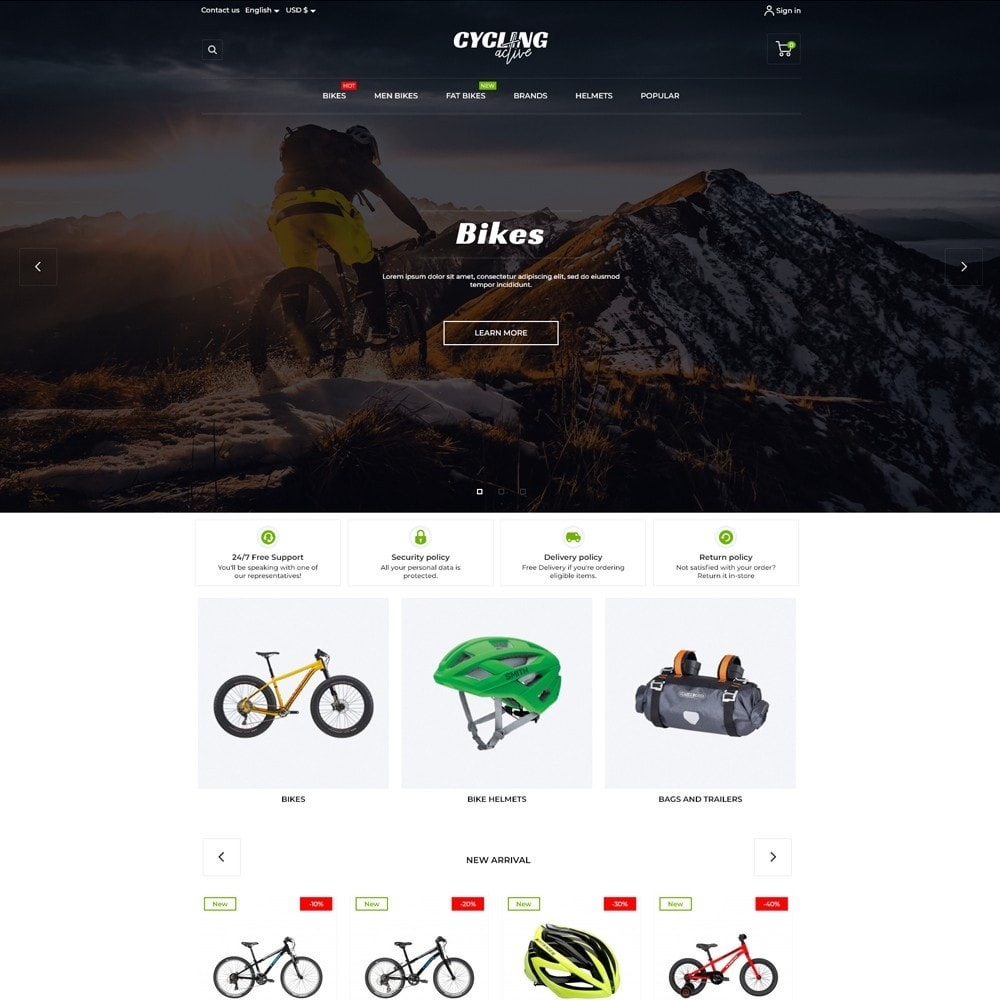 theme - Sports, Activities & Travel - Cycling Active - 2
