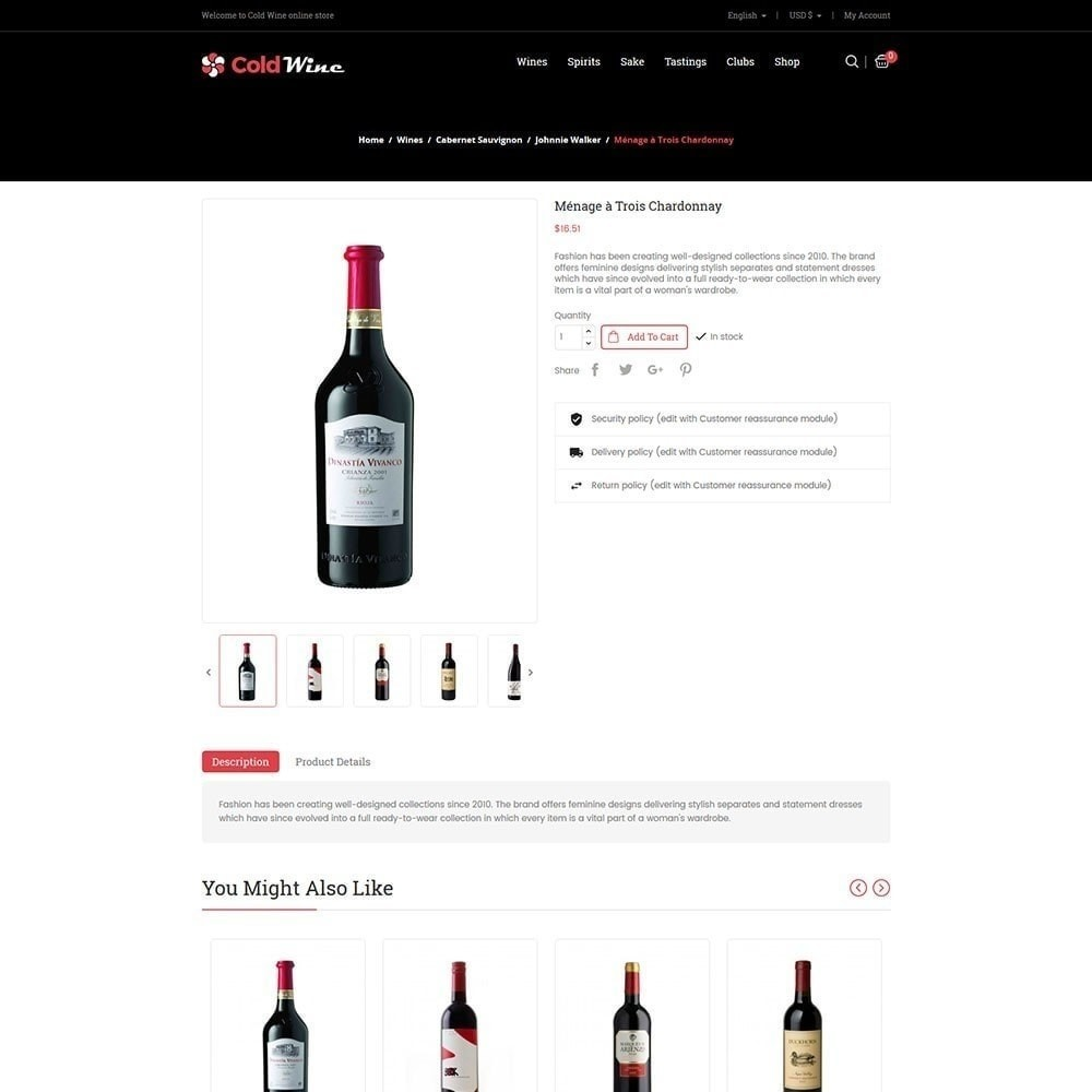 theme - Drink & Tobacco - Recwine - Wine Store - 5