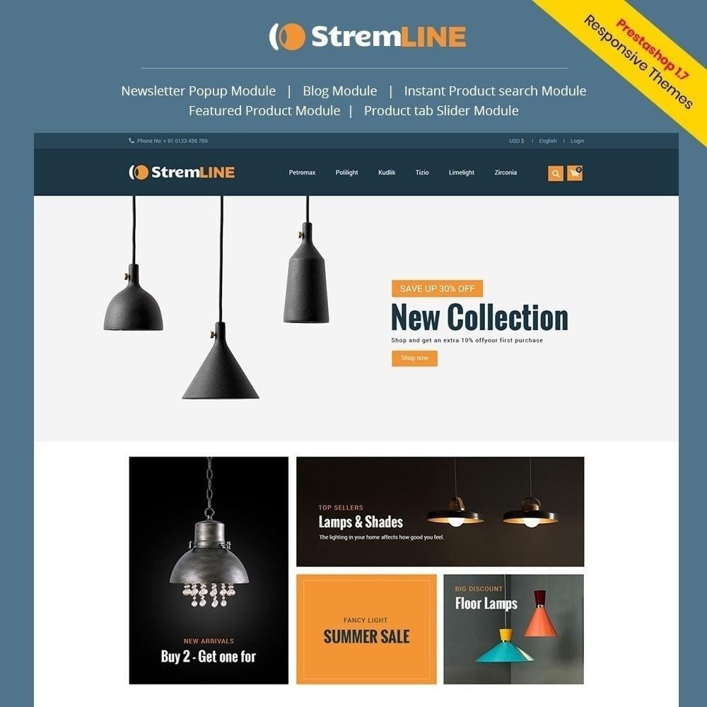 theme - Casa & Jardins - Loja de luz Strem Line - 1