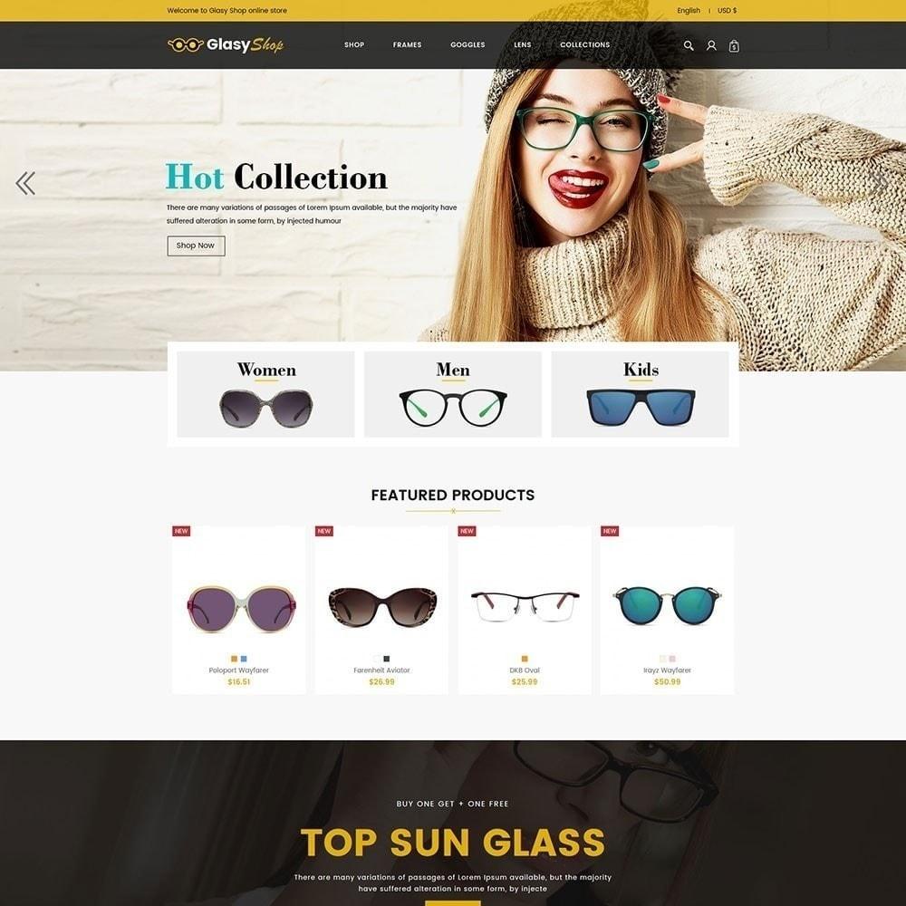 theme - Moda y Calzado - Tienda de moda de cristal de sol - 5