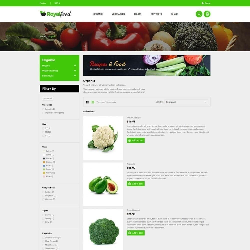theme - Food & Restaurant - Royal Food Store - 3