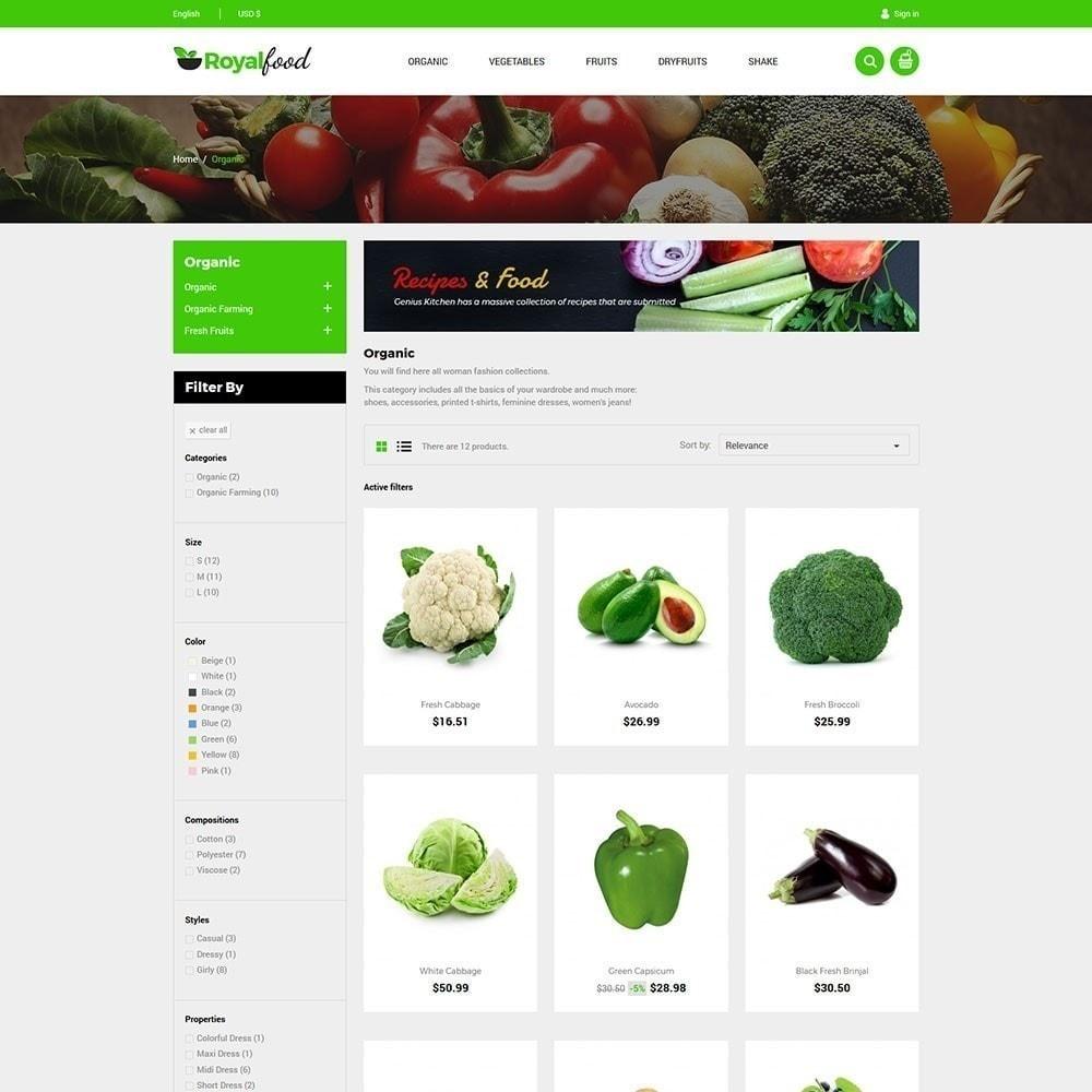 theme - Gastronomía y Restauración - Tienda de comida real - 5