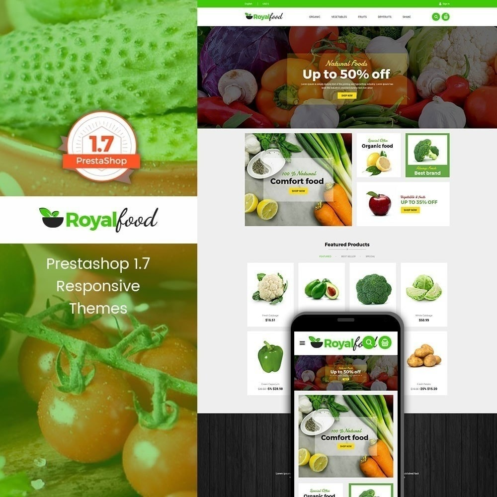 theme - Lebensmittel & Restaurants - Royal Food Store - 2
