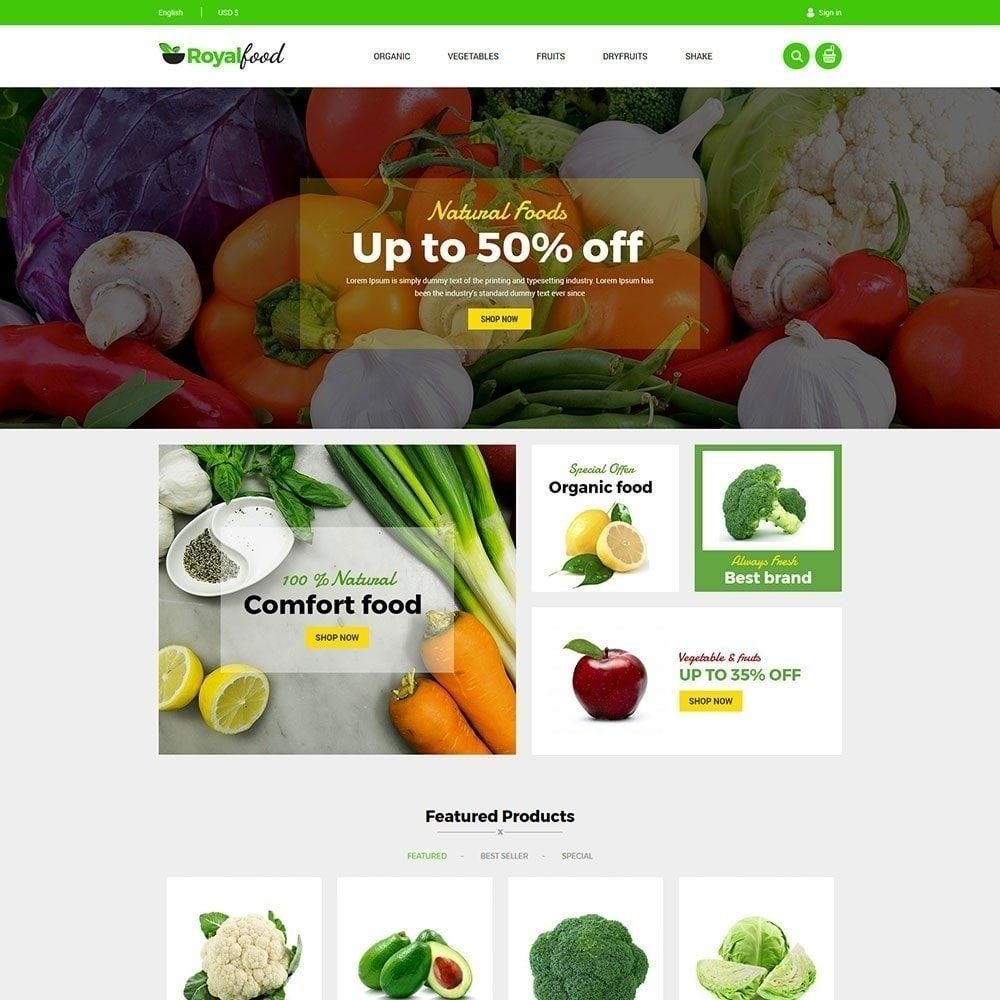 theme - Lebensmittel & Restaurants - Royal Food Store - 3