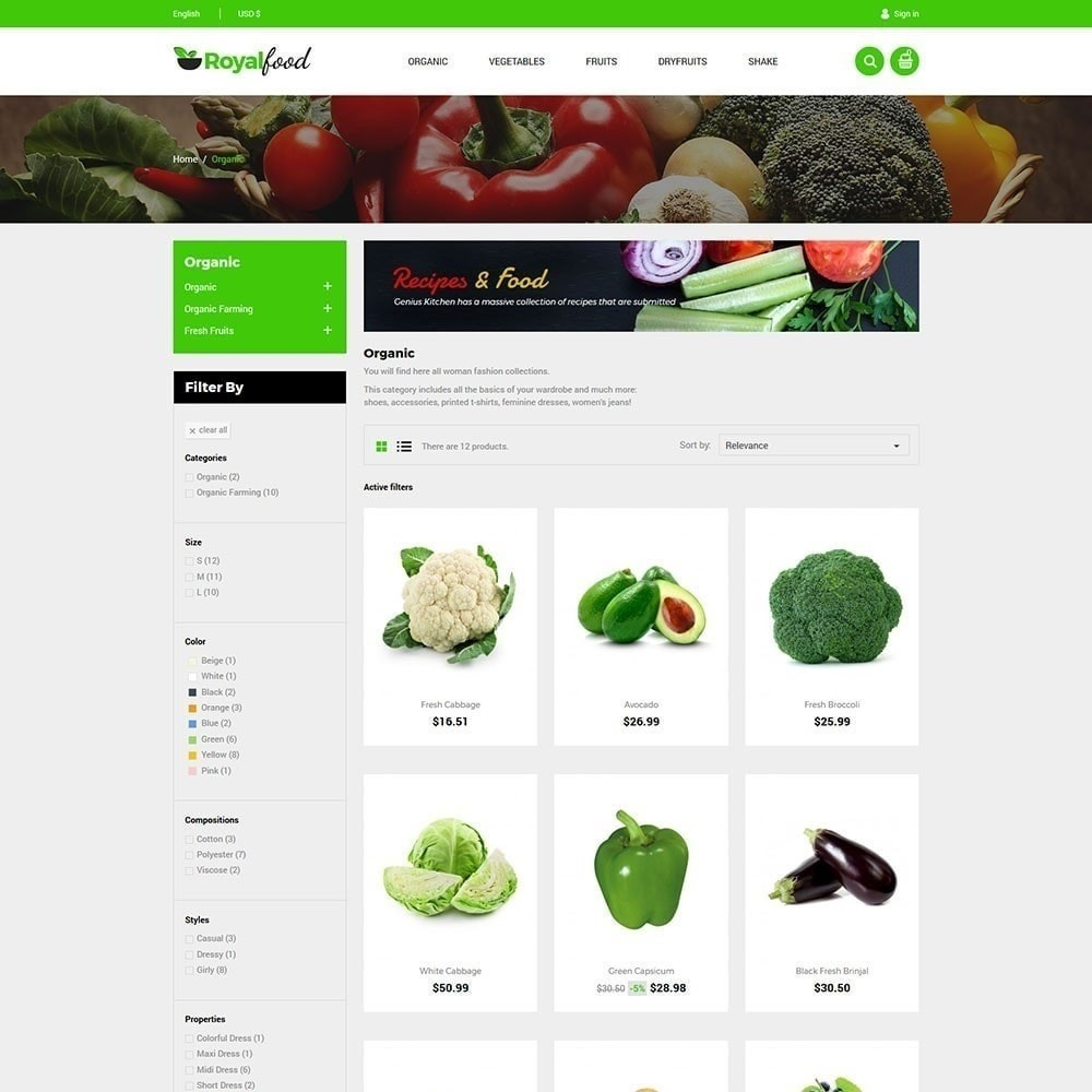 theme - Lebensmittel & Restaurants - Royal Food Store - 5