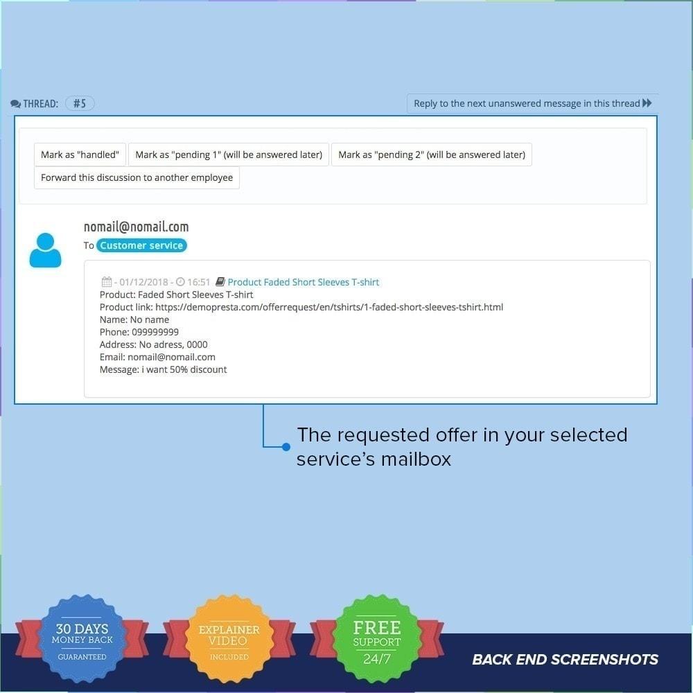 module - Informaciones adicionales y Pestañas - Solicitud de Oferta / Presupuesto PRO - 5