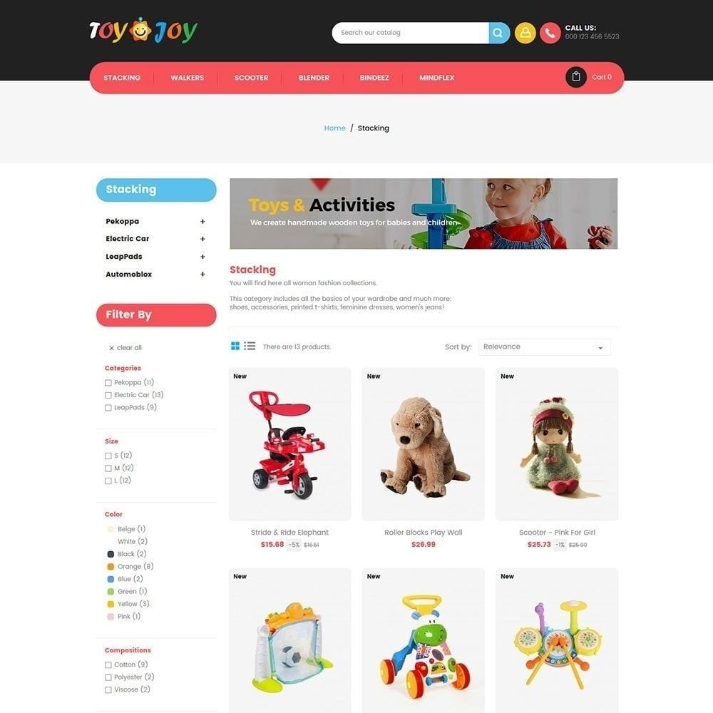 theme - Enfants & Jouets - Toy Joy Kids Store - 3