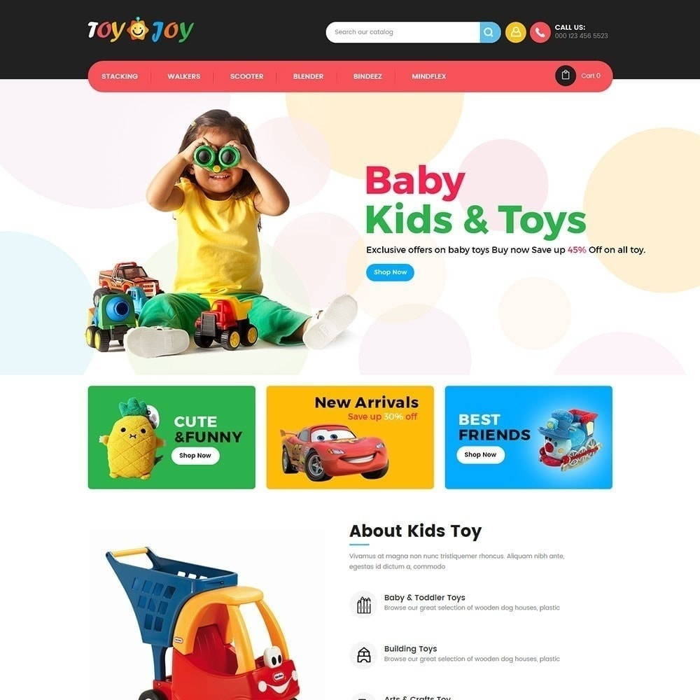 theme - Kinderen & Speelgoed - Toy Joy Kids Store - 2