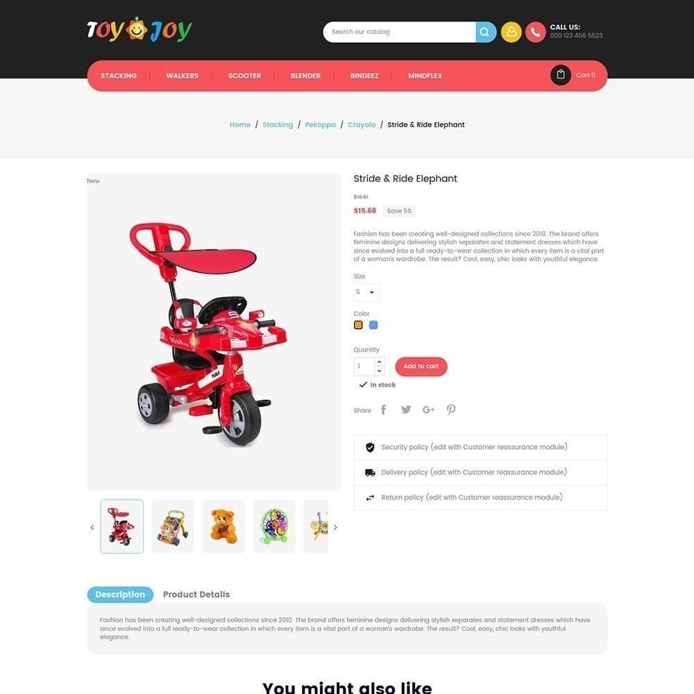 theme - Crianças & Brinquedos - Toy Joy Kids Store - 2