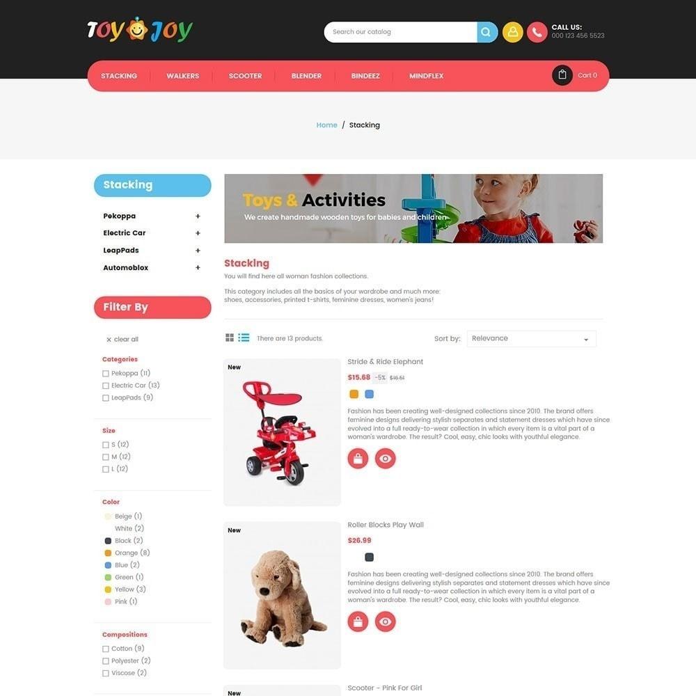 theme - Crianças & Brinquedos - Toy Joy Kids Store - 3