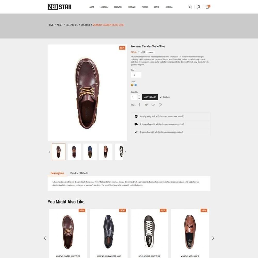 theme - Mode & Schuhe - Zed Star Fashion - 5