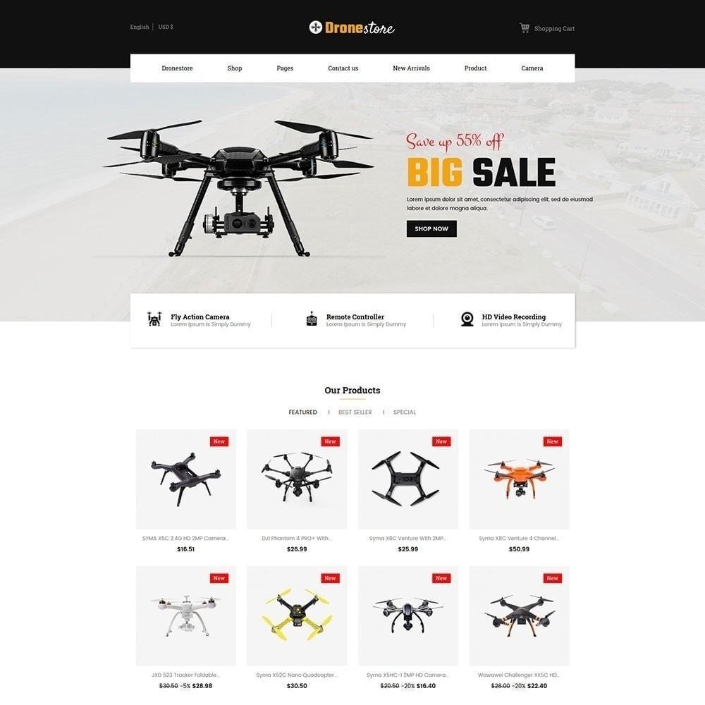theme - Electrónica e High Tech - Drone - Tienda Digital - 5