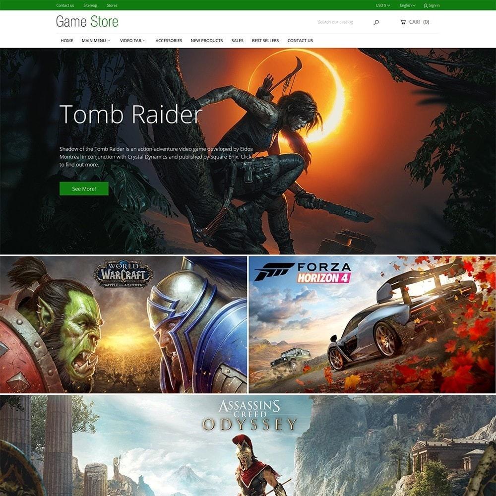 theme - Electrónica e High Tech - Games Store - 2