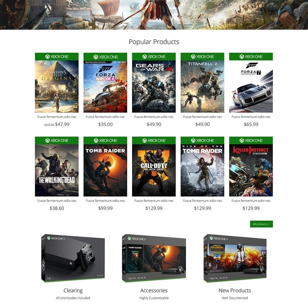 theme - Electrónica e High Tech - Games Store - 4