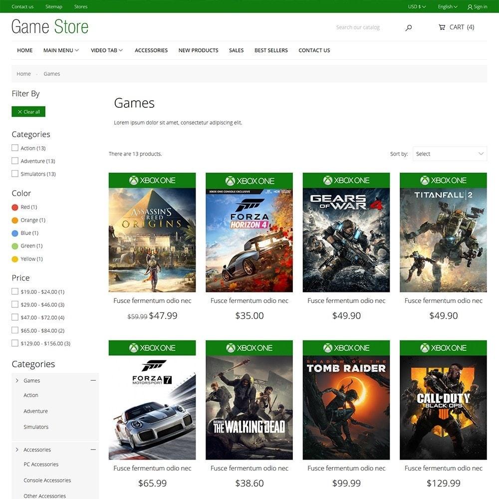 theme - Electrónica e High Tech - Games Store - 6