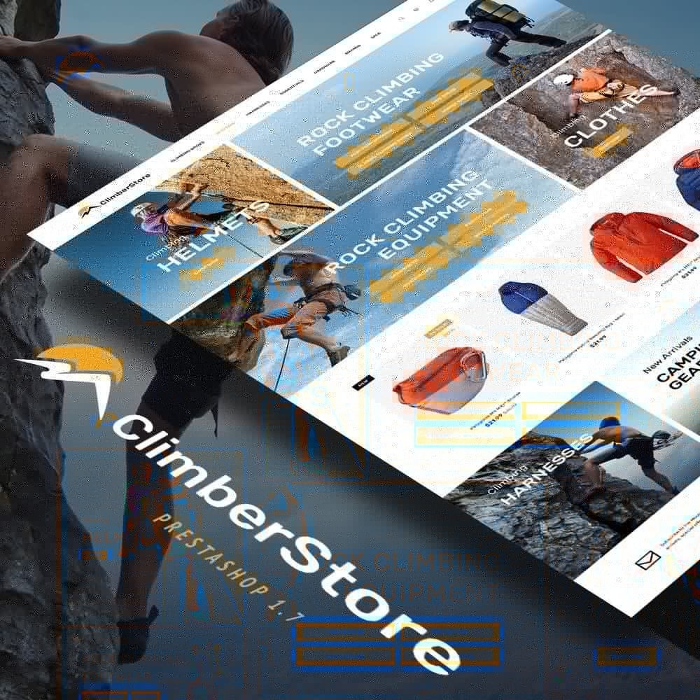theme - Sports, Activities & Travel - ClimberStore - 2