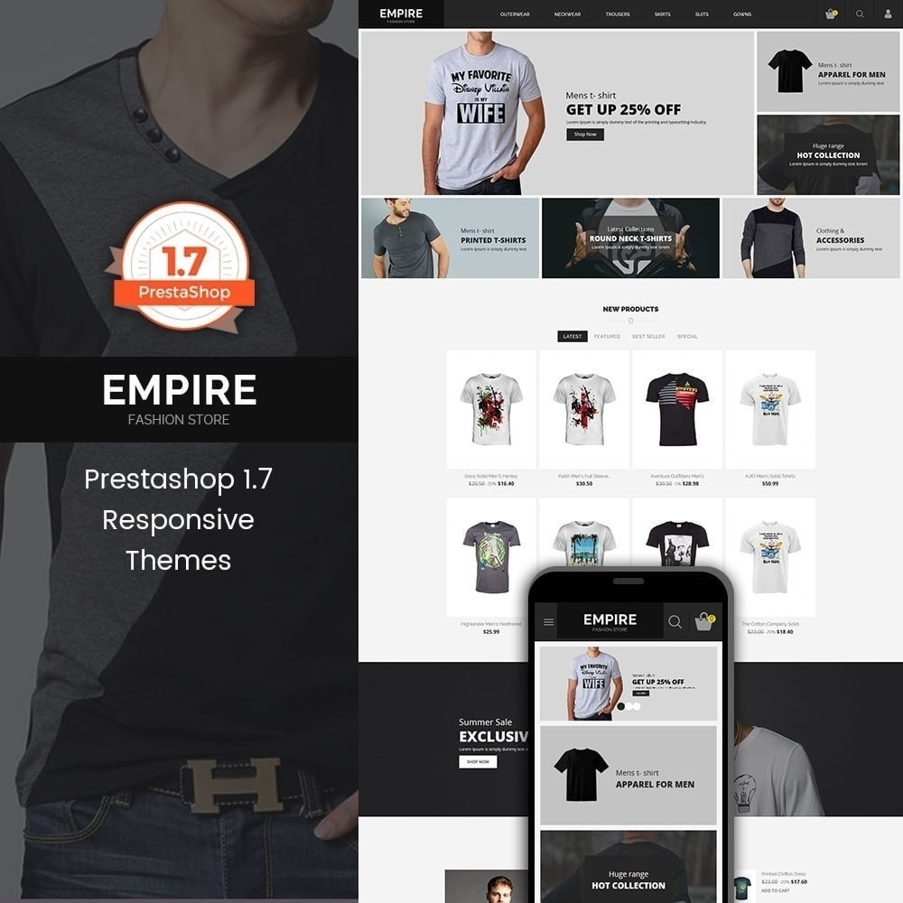 theme - Moda & Obuwie - Empire Fashion Store - 1