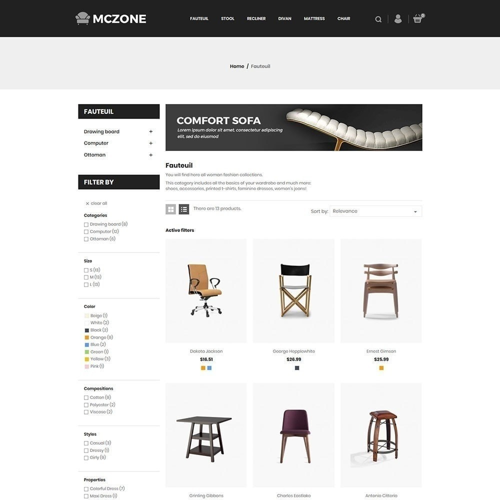 theme - Art & Culture - MacZone Furniture Store - 3
