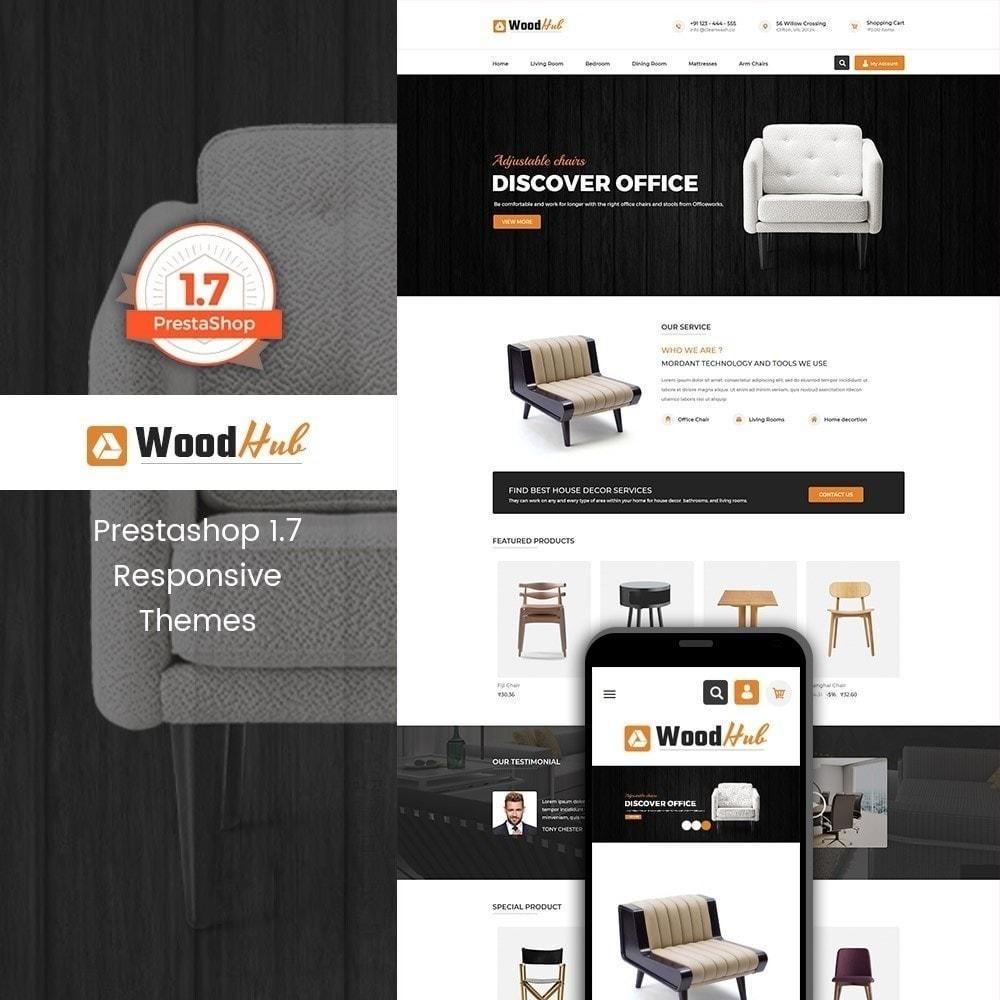 theme - Дом и сад - Магазин мебели Woodhub - 1