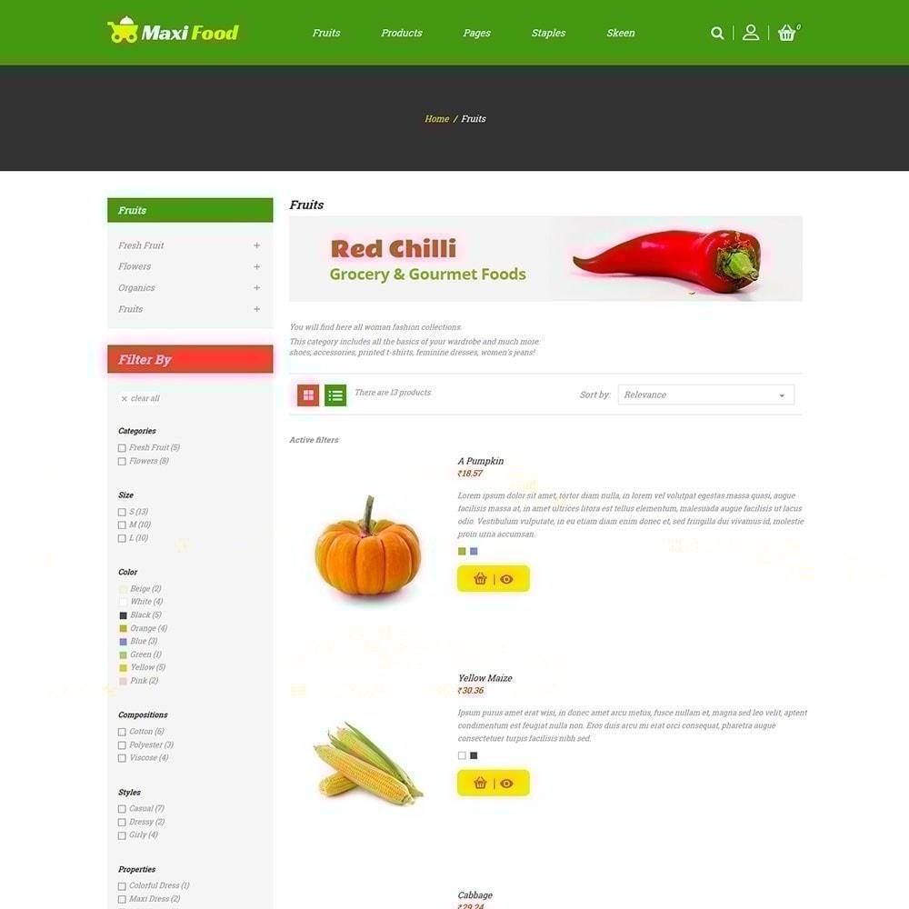 theme - Lebensmittel & Restaurants - Maxi Lebensmittelgeschäft - 3