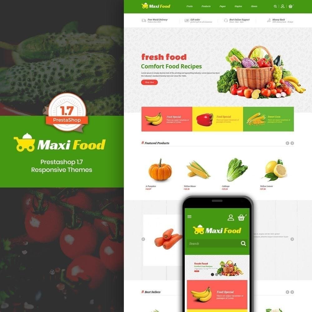 theme - Cibo & Ristorazione - Maxi Food Store - 1
