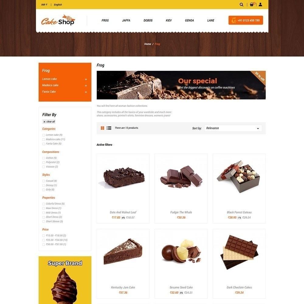 theme - Żywność & Restauracje - Sklep z ciastami - 4