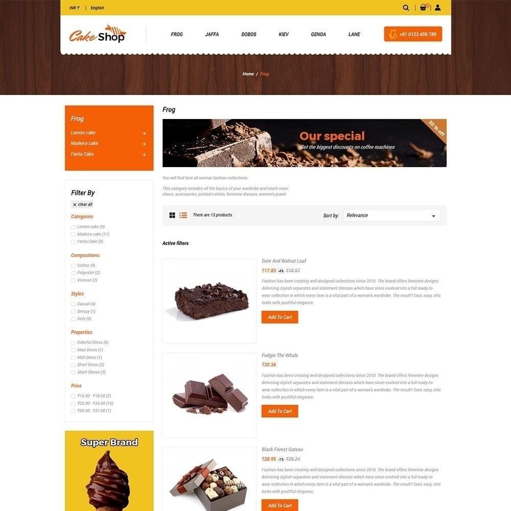 theme - Alimentos & Restaurantes - Loja de bolos - 2