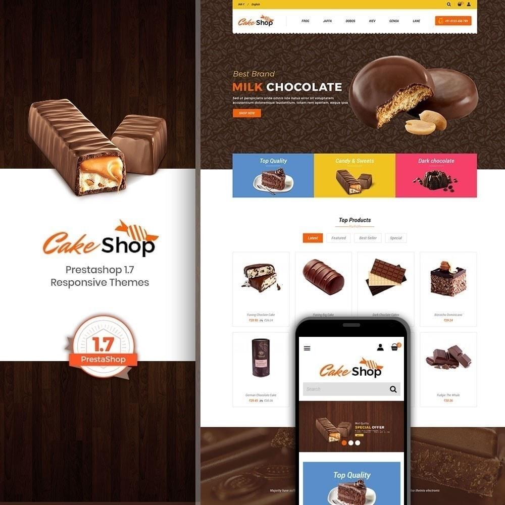 theme - Продовольствие и рестораны - Магазин пирожных - 1