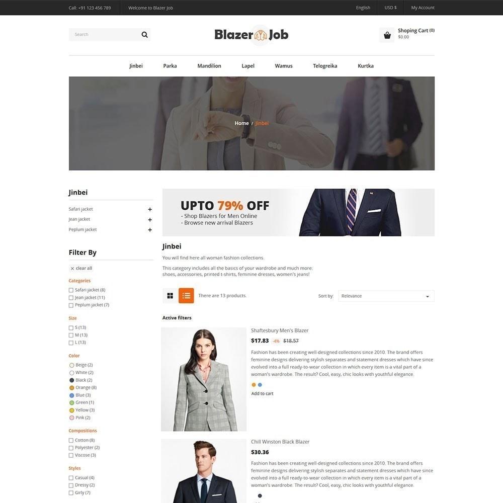 theme - Fashion & Shoes - Blazerjob Fashion Store - 3