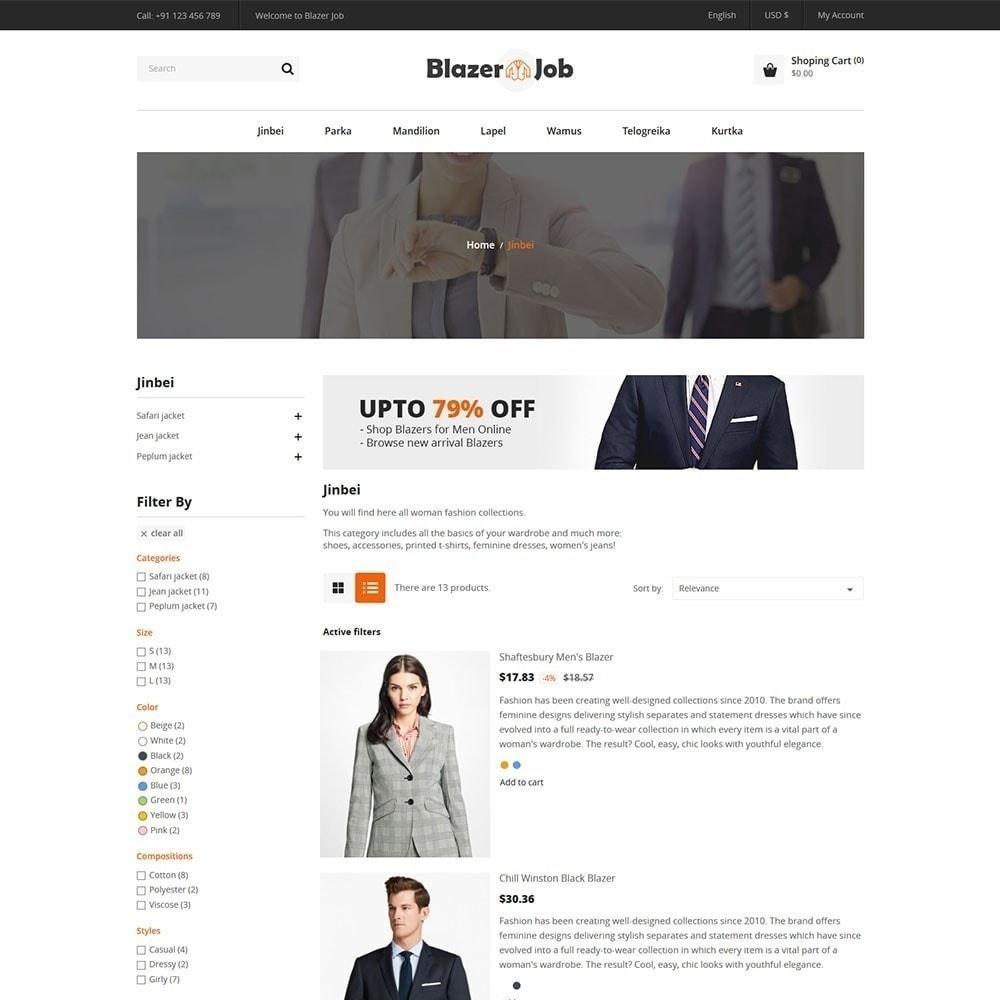 theme - Mode & Schoenen - Blazerjob Fashion Store - 2