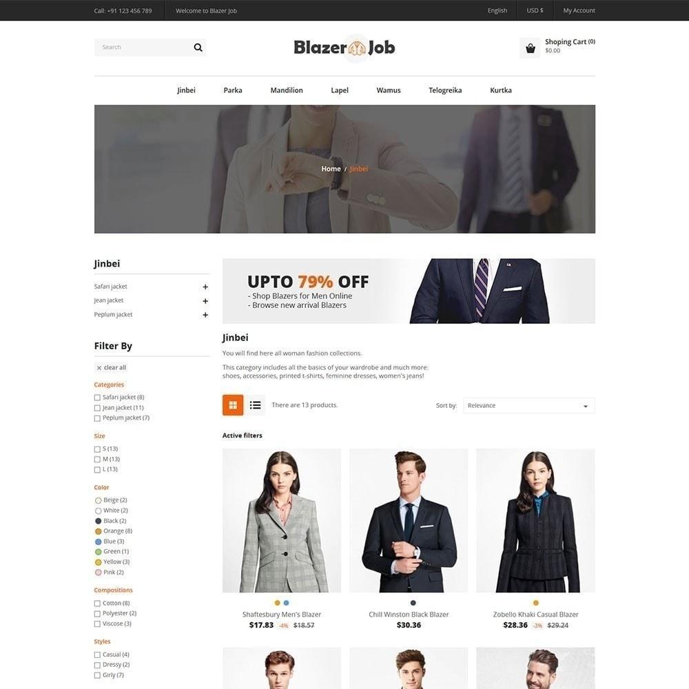 theme - Mode & Schoenen - Blazerjob Fashion Store - 4