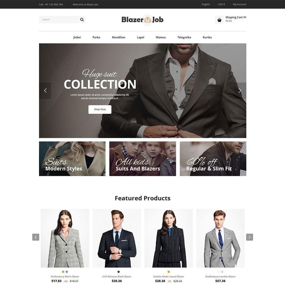 theme - Moda & Obuwie - Blazerjob Fashion Store - 4