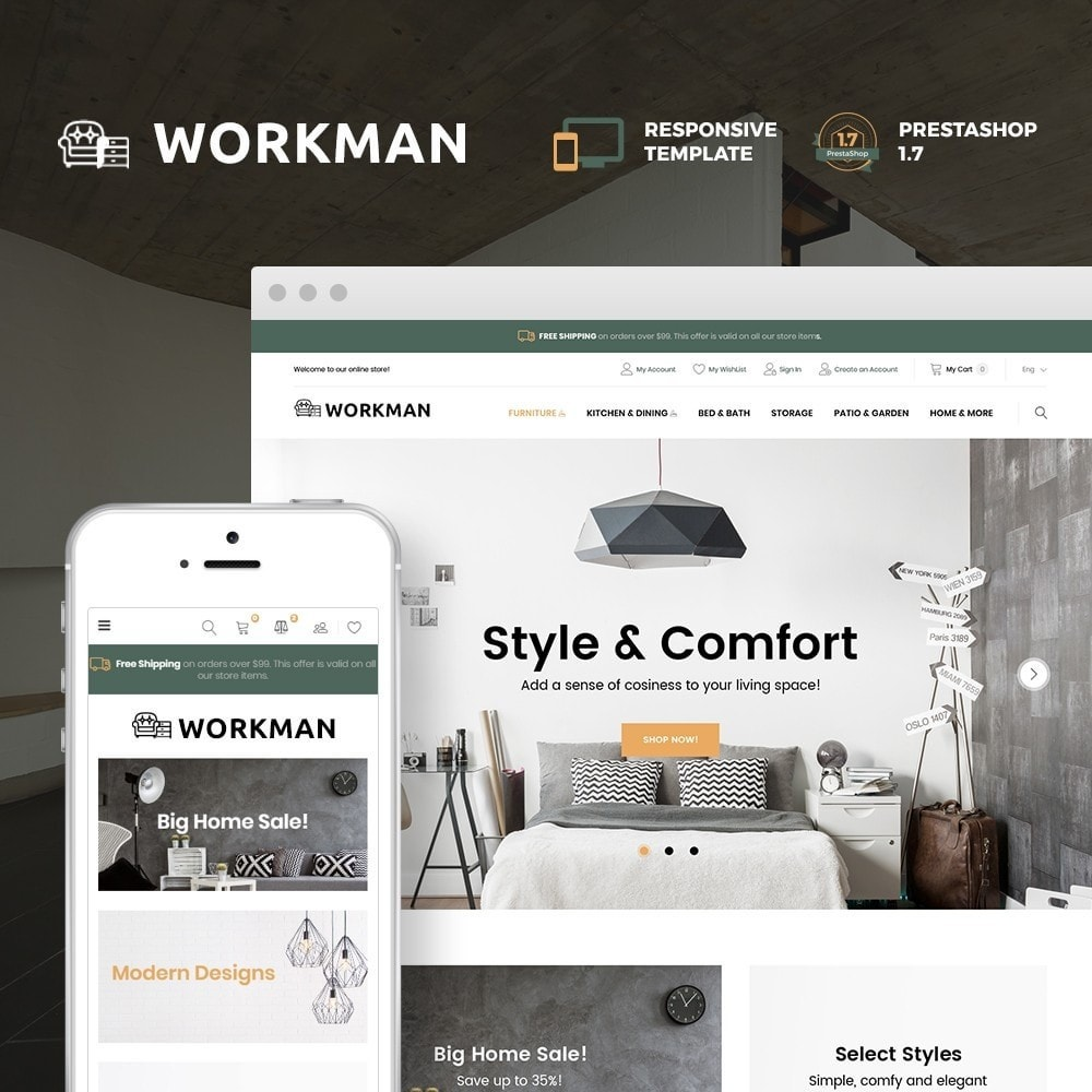theme - Dom & Ogród - Workman - Furniture Store - 1