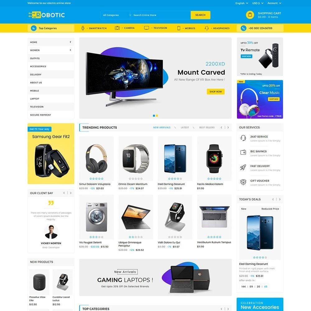 theme - Electronique & High Tech - Robotic Electronics Store - 2