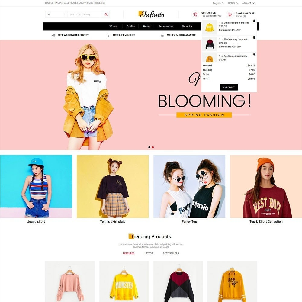 theme - Fashion & Shoes - Infinite Fashion Store - 2