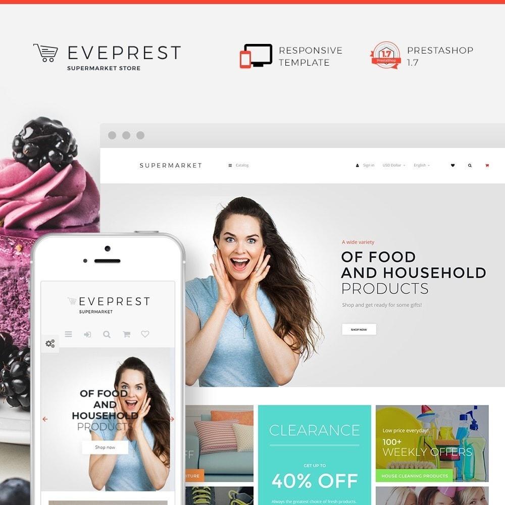 theme - Food & Restaurant - Eveprest - Supermarket Store - 1