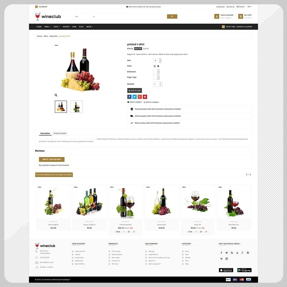 theme - Getränke & Tabak - Brand Wine - Wine Big Store - 4