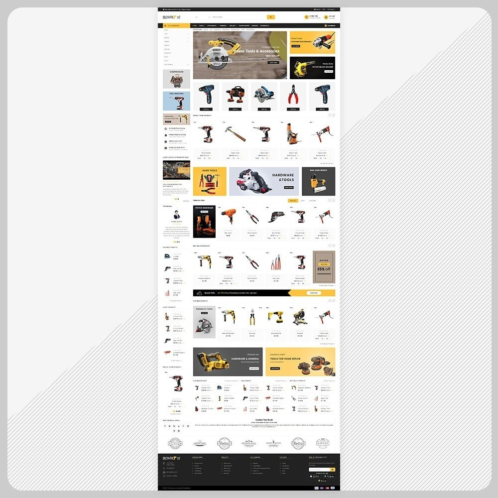 theme - Automotive & Cars - Bohren Outils - Tools Big Store - 2