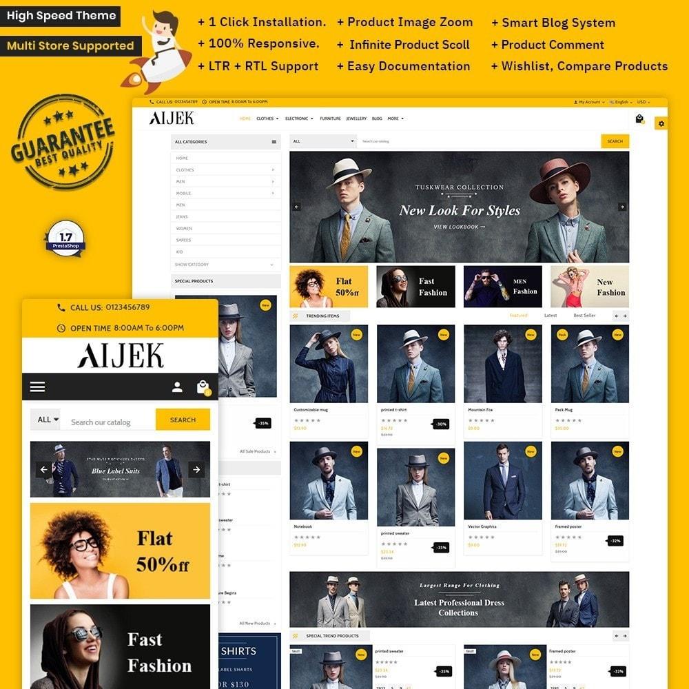 theme - Mode & Schuhe - Aijek - Fashion Mega Shop - 2