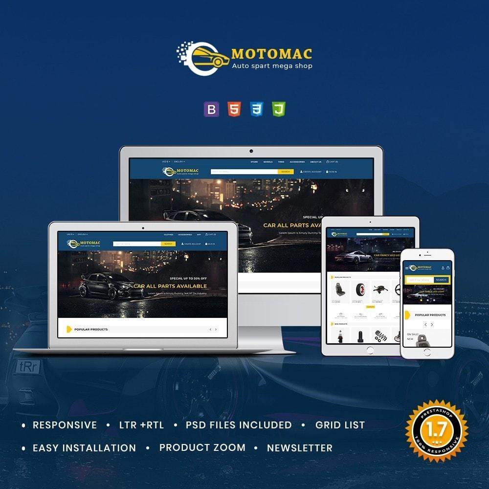 theme - Automotive & Cars - Motomac Autoparts Shop - 2