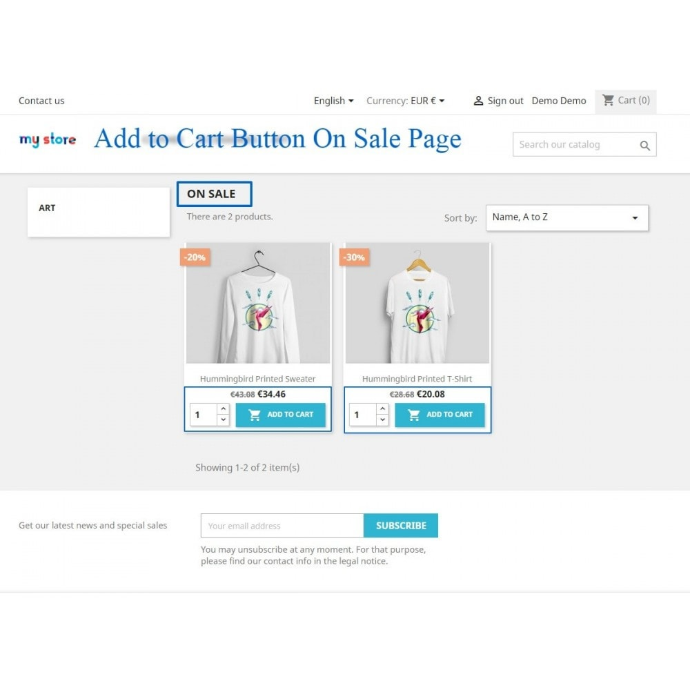 module - Registration & Ordering Process - Show add to cart button product list / category page - 6